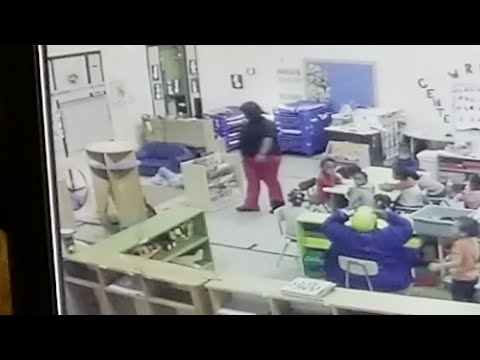 Relatives of a 3-year-old Missouri girl injured at a day care center say they were initially told she was hurt in a fall, but surveillance video shows a woman throwing the girl against a cabinet. (Feb. 28)