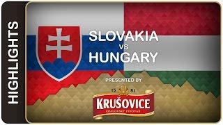 Slovakia opens the Worlds with a win   Slovakia-Hungary HL   #IIHFWorlds 2016