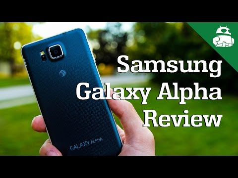 Samsung Galaxy Alpha Review