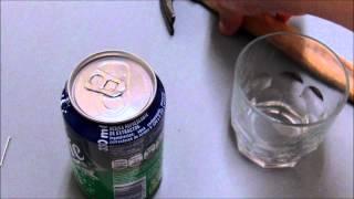 Cómo vaciar una lata sin que parezca que está abierta - Chindas12
