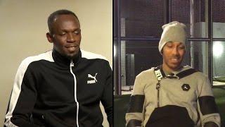 Bolt vs. Aubameyang: who wins in a 30m race?