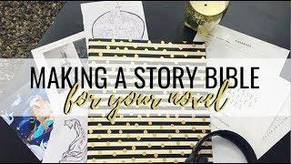 HOW TO MAKE A STORY BIBLE (AKA SERIES BIBLE) + FREE TEMPLATE