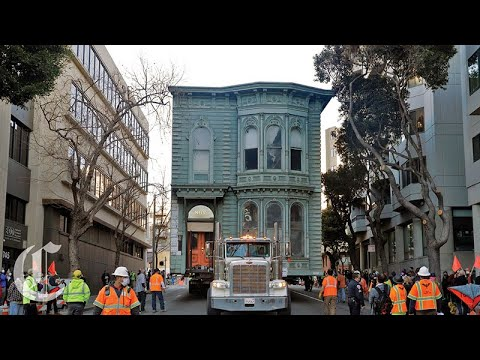 Moving Houses in San Francisco is Very Different