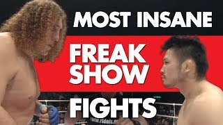 15 Most Insane Freak Show MMA Fights