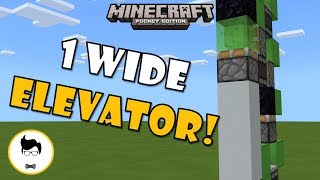 how to make a piston elevator in minecraft pe - TH-Clip