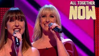 Sista Sista struggle to impress with Clean Bandit's Rather Be | All Together Now