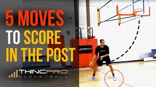 Top 5 Basketball Post Moves! (Centers and Power Forwards) - Become UNSTOPPABLE and Get Easy Buckets!