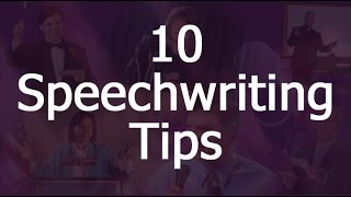10 Speech Writing Tips For Anyone Who Has Never Written Or Delivered A Speech
