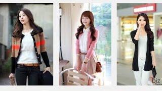 Top 100 Mẫu áo khoác len mỏng nữ đẹp thời trang cho các bạn gái