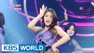 AOA - Like a Cat (사뿐사뿐) [Music Bank HOT Stage / 2014.11.28]