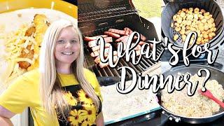 WHAT'S FOR DINNER? // EASY DINNER IDEAS // FAMILY MEAL IDEAS