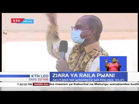 Raila atofautiana na Gavana wa Kilifi Amason Kingi kuhusiana na kuwa na chama chenye sura ya pwani