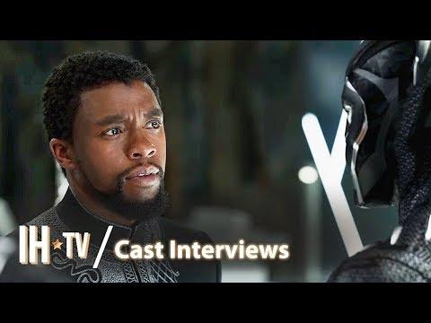BLACK PANTHER (2018) - Cast Interviews | Chadwick Boseman, Michael B. Jordan, Lupita Nyong'o