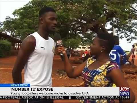 Young Players Support Governments Move - News Desk on Joy News (8-6-18)