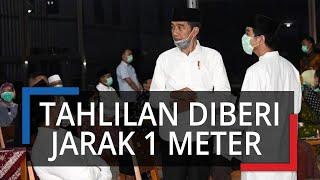 Begini Suasana Tahlilan Pertama Presiden Jokowi di Solo, Tamu Pakai Masker hingga Kursi Berjarak