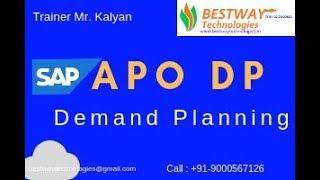 APO DP Interactive Planning Screen Details | SAP APO Training in Hyderabad | Bangalore