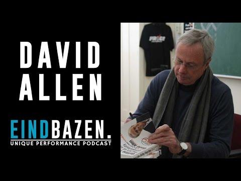 David Allen – Getting Things Done – Eindbazen Podcast