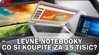 Levné notebooky: Co si koupíte za 15 tisíc? - AlzaTech #627