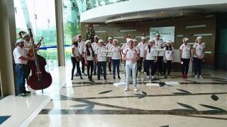 2016 Christmas Carols at HPE Cyberjaya - Santa Claus is Coming to Town
