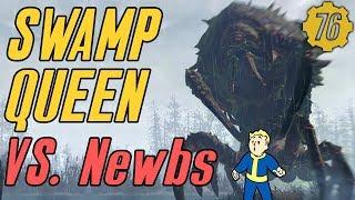 Fallout 76 LEVEL 50 MIRELURK QUEEN vs. Newbs! #Fallout76