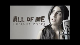 All Of Me   John Legend Cover (Luciana Zogbi) || WhatsApp Status