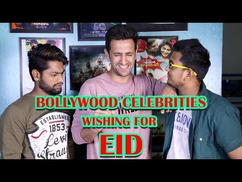 EID MUBARAK BY BOLLYWOOD CELEBRITIES || MIMICRY SPECIAL