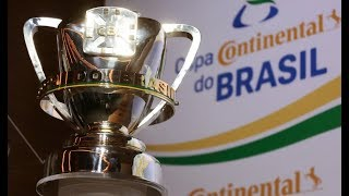 Sorteio dos confrontos da 1ª fase da Copa do Brasil 2019