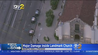 Transient Causes $100K Of Damage In NoHo Church Break-In, Police Say