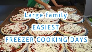 Large Family SIMPLIFIED FREEZER MEAL COOKING for the SUMMER