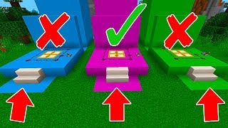 Don't Pick The Wrong Minecraft Trap Door Challenge