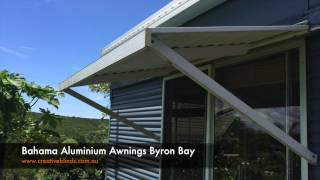 Bahama Aluminium Awning