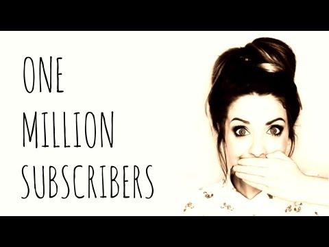 1 MILLION SUBSCRIBERS! | Zoella