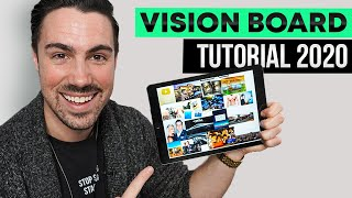 HOW TO CREATE A VISION BOARD THAT REALLY WORKS! - (WARNING: This Video Will Change Your Life!)