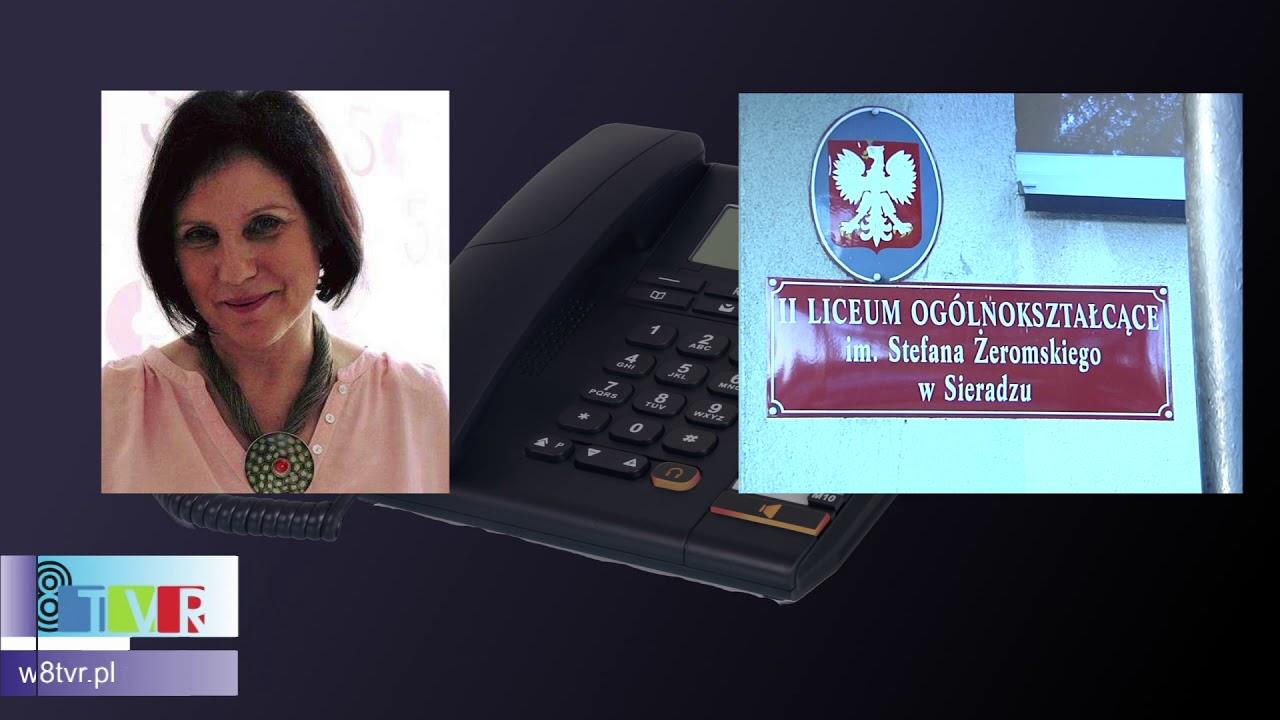 Rozmowa z dyrektor II LO w Sieradzu Urszulą Świniarską