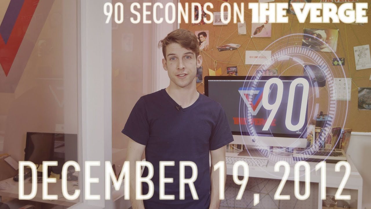 TVii, Professor Steven Sinofsky, and more - 90 Seconds on The Verge: Wednesday, December 19, 2012 thumbnail