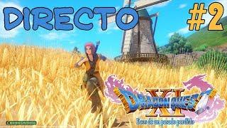 Dragon Quest XI - Directo #2 - Español - Guía 100%  - Explorando El Mundo - Crafteando - Ps4 Pro