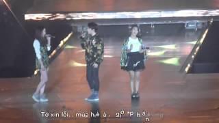 [Vietsub] 131224 Goodbye Summer - f(x) ft. D.O. SM Town WEEK