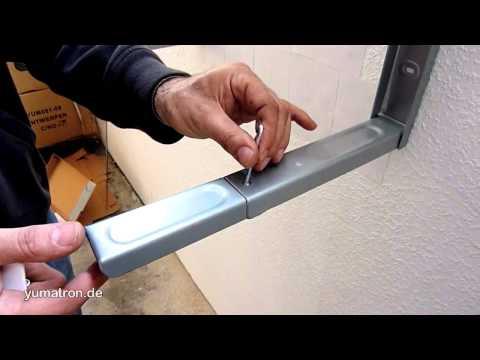 H71:  Küchen Wandhalterung für die Mikrowelle