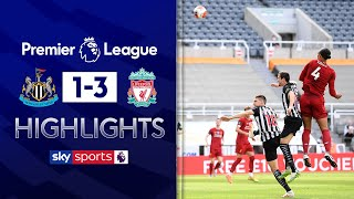 SUBSCRIBE ► http://bit.ly/SSFootballSub PREMIER LEAGUE HIGHLIGHTS ► http://bit.ly/SkySportsPLHighlights  Highlights from the Premier League, as goals from Van Dijk, Origi and Mane secured a win for Liverpool over Newcastle meaning they finish the season on 99 points.Gayle had put Newcastle ahead in the first minute but Liverpool were to strong in the end.   Watch Premier League LIVE on Sky Sports here ► http://bit.ly/WatchSkyPL ►TWITTER: https://twitter.com/skysportsfootball ►FACEBOOK: http://www.facebook.com/skysports ►WEBSITE: http://www.skysports.com/football  MORE FROM SKY SPORTS ON YOUTUBE: ►SKY SPORTS CRICKET: https://bit.ly/SubscribeSkyCricket ►SKY SPORTS BOXING: http://bit.ly/SSBoxingSub ►SOCCER AM: http://bit.ly/SoccerAMSub ►SKY SPORTS F1: http://bit.ly/SubscribeSkyF1