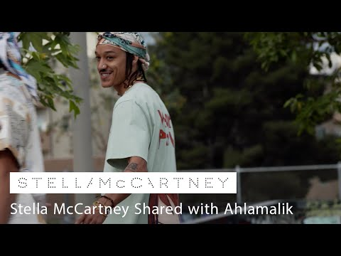 Ahlamalik drops his 'West Side' track wearing Stella Shared SS21