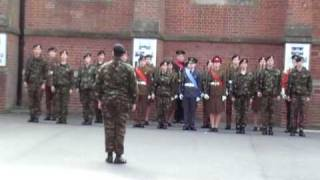 preview picture of video 'Epsom College Drill Team 2010'