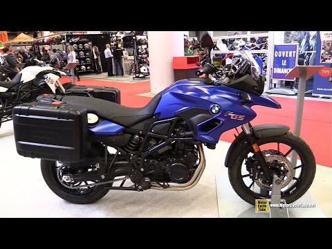 2015 BMW F700GS Travel Edition - Walkaround - 2015 Salon Moto de Montreal