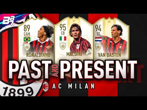 PAST AND PRESENT AC MILAN SQUAD BUILDER! | FIFA 19 ULTIMATE TEAM