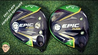 Mark Crossfield reviews the Epic Flash fairway wood