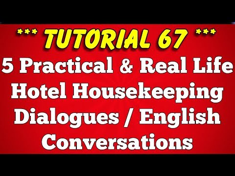 mp4 Housekeeping English Dialogue, download Housekeeping English Dialogue video klip Housekeeping English Dialogue