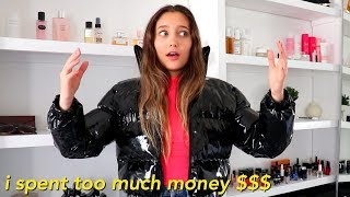 spending money on clothes I don't need (huge try-on clothing haul)