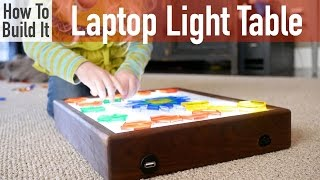 How To Build A Battery Operated Light Table