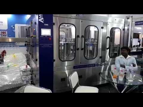 Automatic Water Bottle Filling Machine - 120 BPM RFC