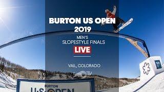 FULL SHOW - Burton US Open Mens Slopestyle Finals