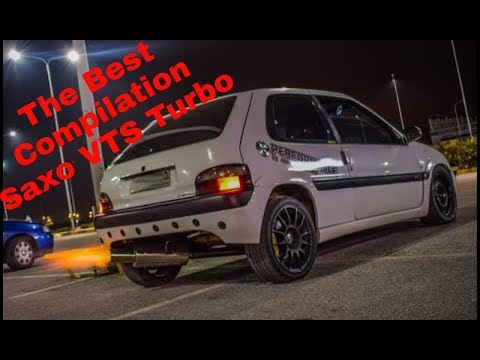 ULTIMATE Saxo VTS Turbo 😈 🔥   THE BEST Compilation Part.1